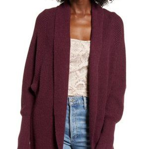 New Leith Dolman Sleeve Long Cardigan Sweater 425